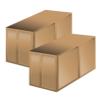 Warehouse Storage Crates Icons