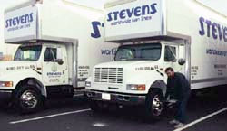 Stevens Out of State Moving Trucks