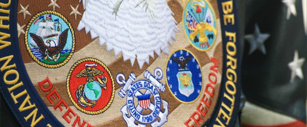 Fallen Heroes Military Patch