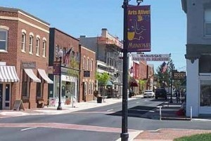 Downtown Manassas Virginia
